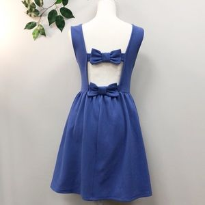 Romeo&juliet Couture. Baby Doll BOW dress Small
